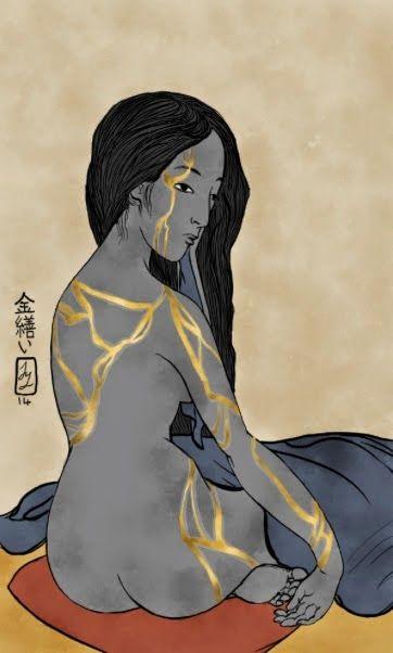 kintsukuroi girl