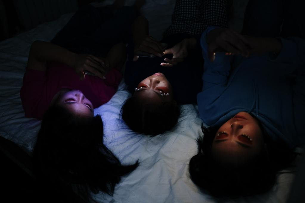 Blue light at night can disrupt sleep. Photo by C Technical.