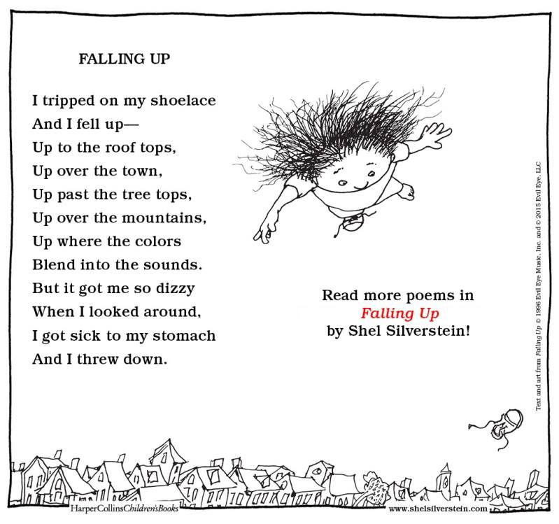 Fallin Up by Shel Silverstein