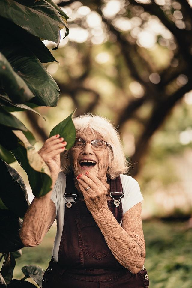 Joyful Woman.  Photo by Edu Carvalho.