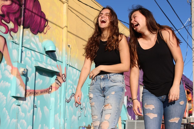 Girls Laughing. Photo by Savannah Dematto.