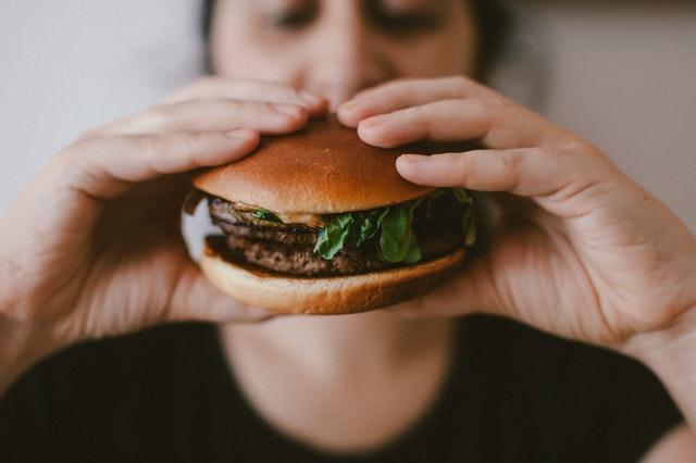 Hamburger.  Photo by Szabo Viktor.