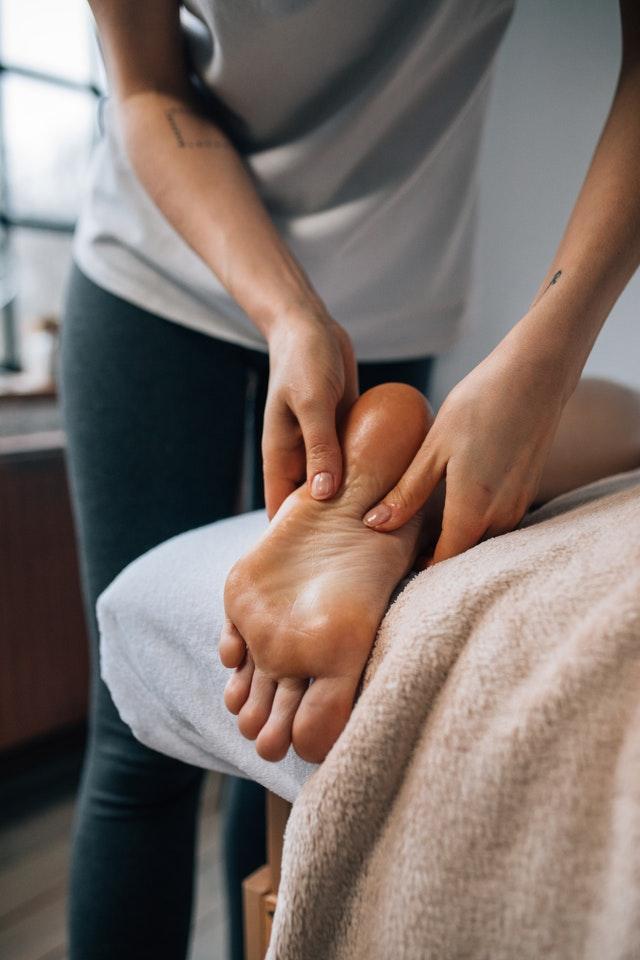 Foot Massage. Photo by KoolShooters