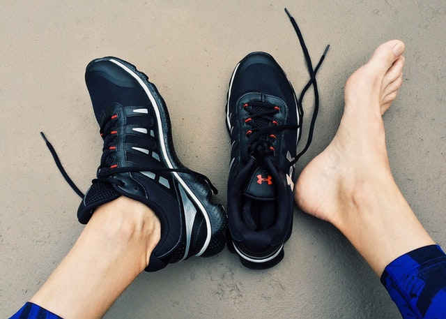 Athletic Shoes. Photo by Pixabay