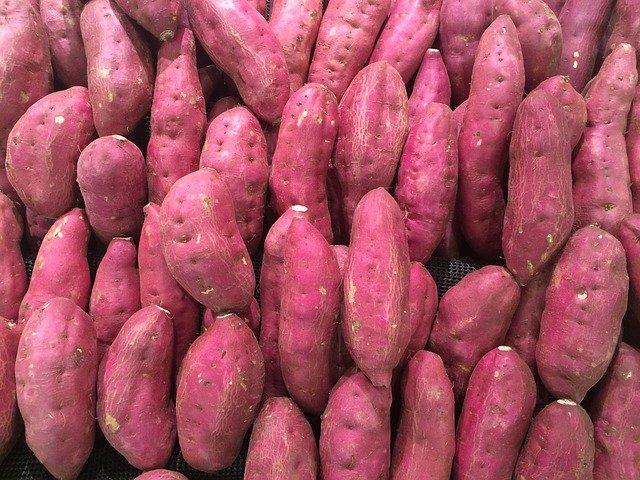 Red Sweet Potatoes