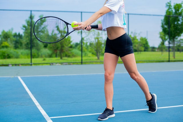 Tennis Supports Bone Density Growth. Image by Dmytro.